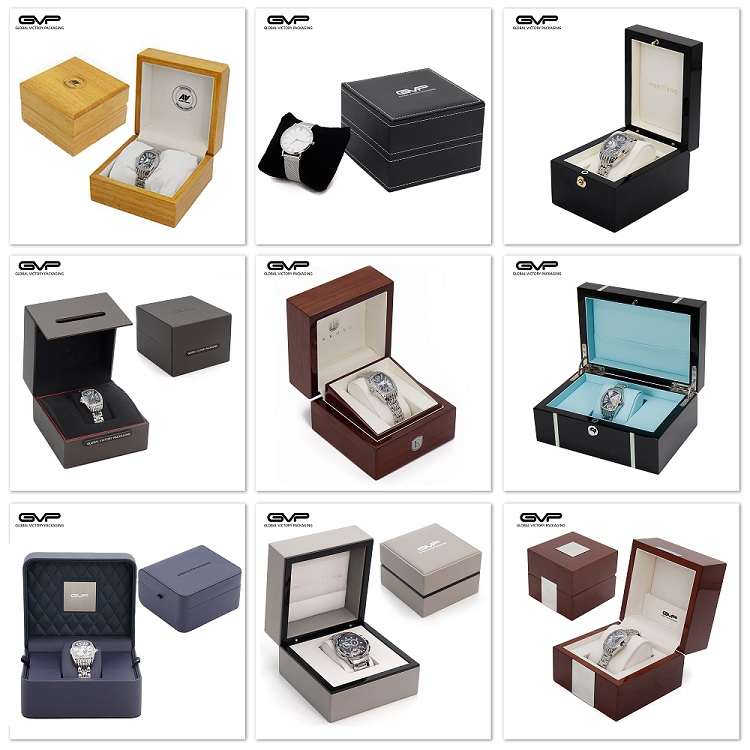 Wholesale cardboard packing boxes for storage watch straps folding book style packaging gift box