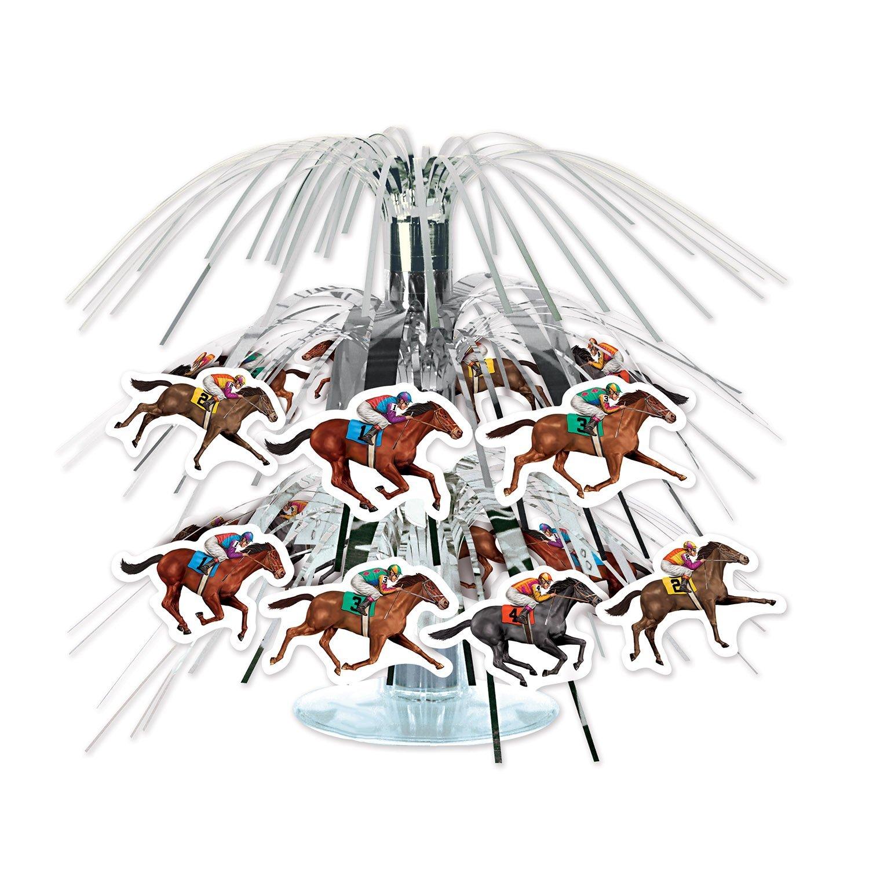 Horse Racing Mini Cascade Centerpiece