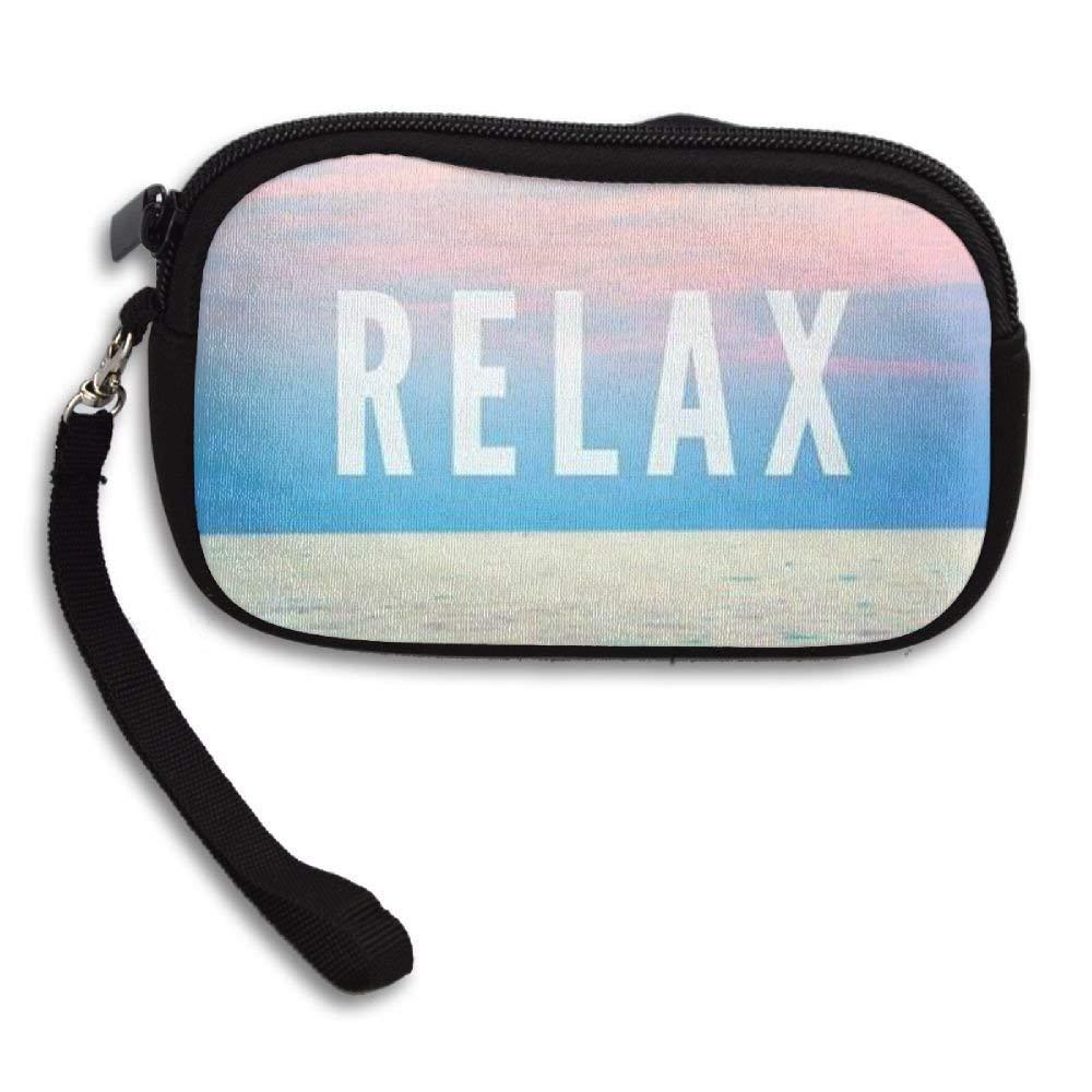 WCVRUT Unisex Clutch Wallet For Woman Ladies -Relax Long Purse Bag Men Gentlemen