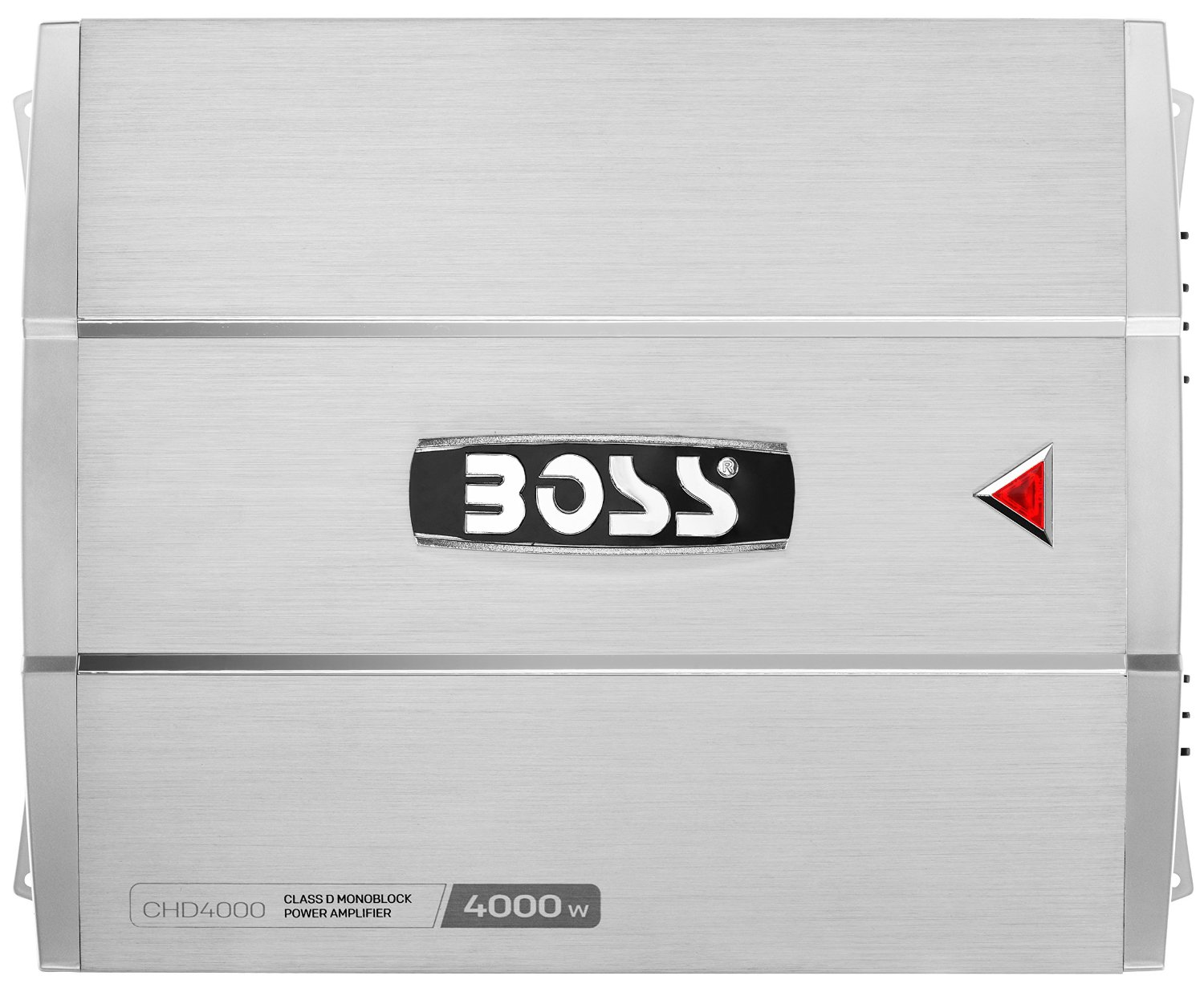 BOSS AUDIO CHD3000 CHAOS 3000-Watt Monoblock, Class D 1 to 8 Ohm Stable Monoblock Amplifier with Remote Subwoofer Level Control
