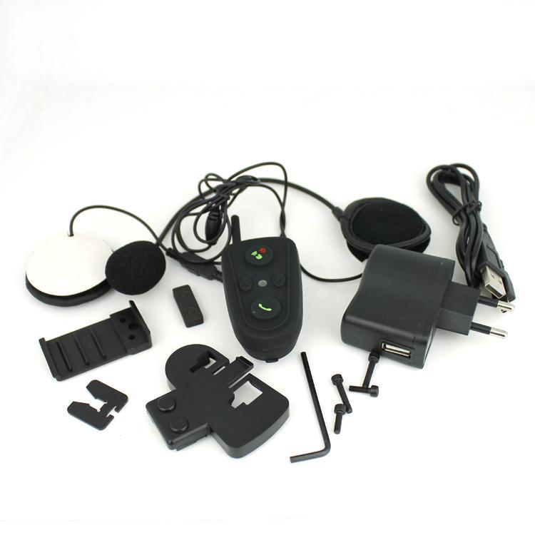 Motorcycle Helmet Headset with Bluetooth and 100m intercom function -HM528