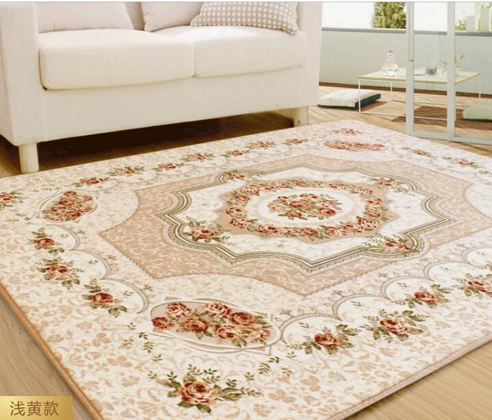 2016 carpet for living room large rug european jacquard - Huge living room rugs ...
