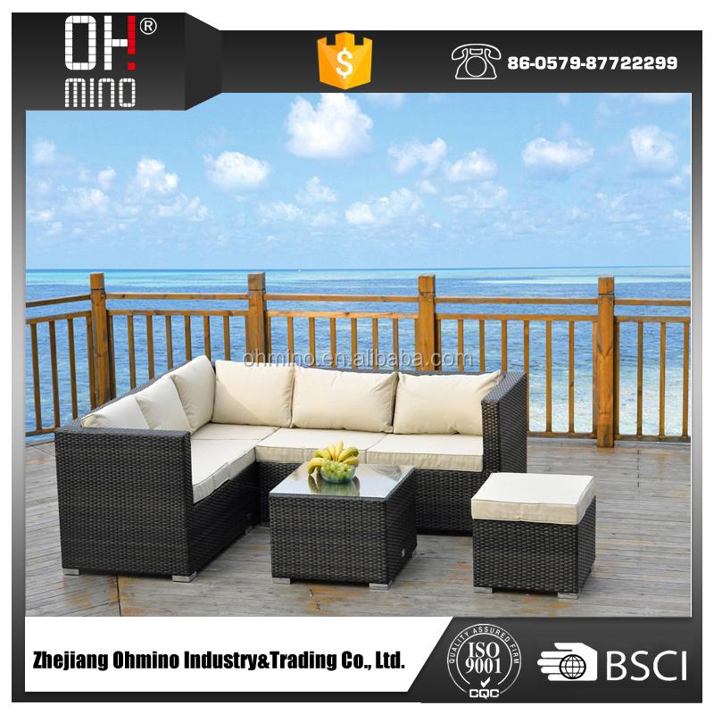 Outdoor muebles de rattan mimbre muebles sof de la for Muebles rattan exterior