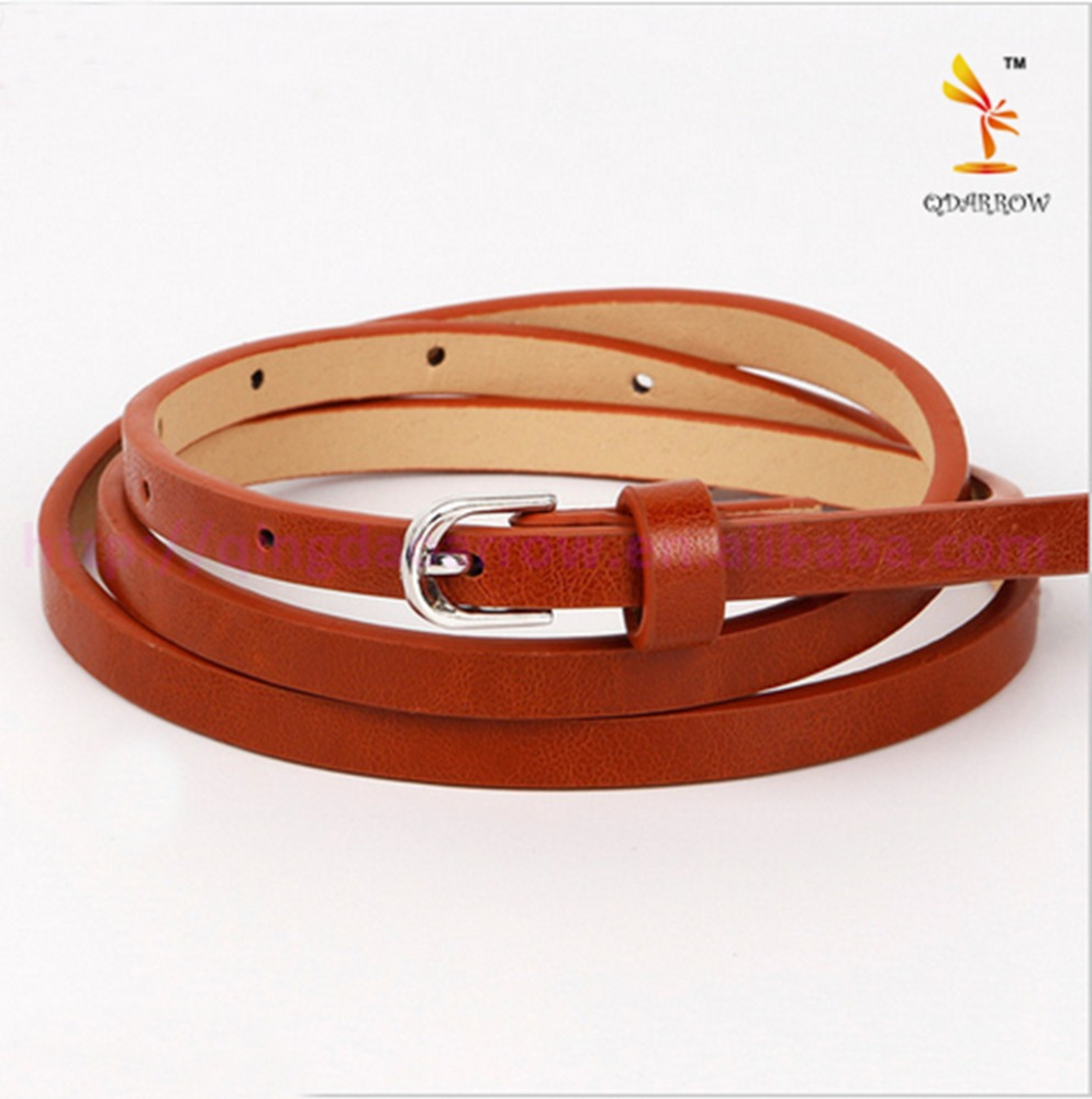 Simple Wild Thin Belt Of Foreign Trade Are Available Kids Belts For Girls And Boys Poop Factory Direct Supply Spot