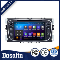 2 din FR FL RR RL Sub woofer Audio car dvd player with GPS for ford