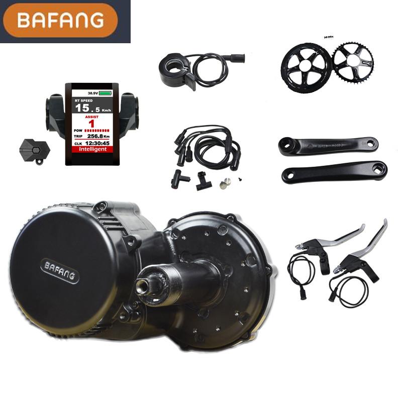 Bafang new built-in coltroller BBS02B 36v 500w motor kit for electric bike