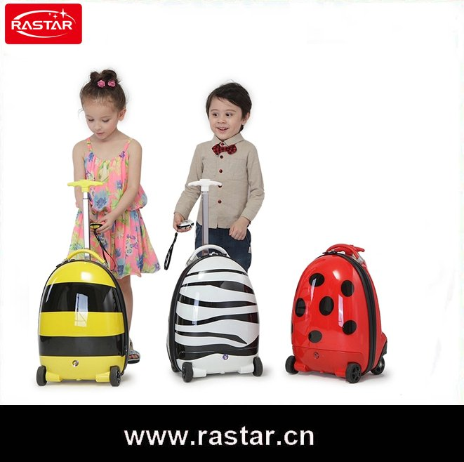 2016 RASTAR 2015 baby kids travel luggage with remote control