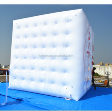 Can Add Logo Printing custom printing inflatable cube helium balloon P3136A