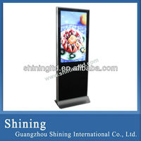 42 inch surpermarket shopping mall LCD advertising display stand