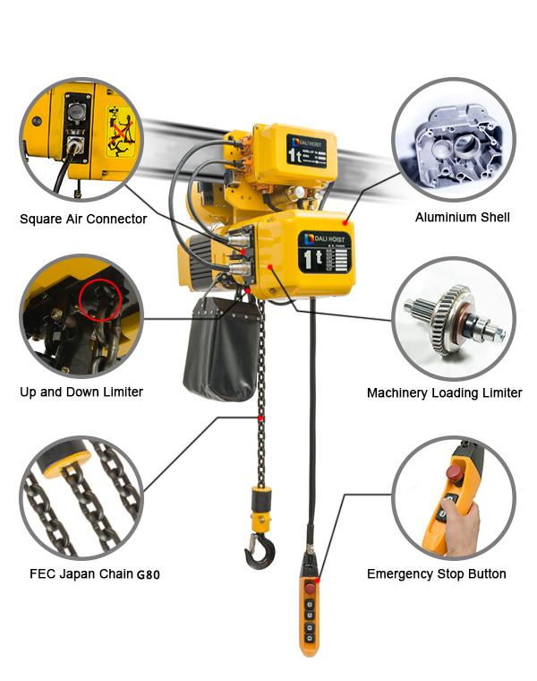 China Supplier Hydraulic Engine Hoist Shop Crane Hoist Crane Limit ...