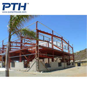 2018 new style used hot sale two story steel structure warehouse