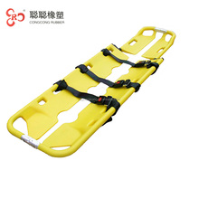 Strong Aid Patient Transport Stretcher Rescue Aluminum Alloy Folding Scoop Stretcher