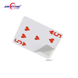 Factory Custom Design Casino Grade Plastic RFID NFC PVC Family Game Playing Cards Printing