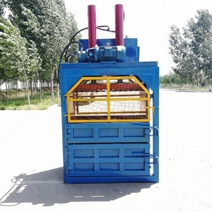 Hydraulic Fully Automatic Waste Carton Paper Compactor Baling Machine