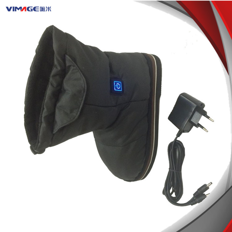 heated Boots Winter Warmer Foot Electric USB Heated Shoes ZaSqUx0