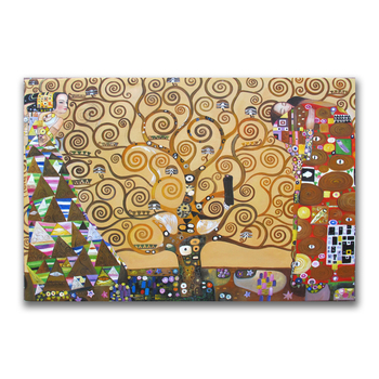 Gustav Klimt's The Tree of Life famous oil painting Reproduction