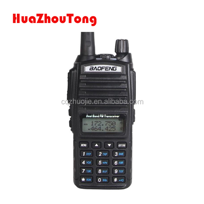 BAOFENG UV-82 8W dual band Daul PTT CE FCC approval Handheld Walkie Talkie UHF400-520MHZ/VHF136-174MHZ 2- way radio
