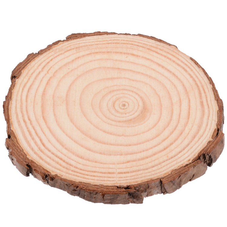 new product wholesale unfinished circle oval round natural wood wall decor enterpiece <strong>crafts</strong>, wood slices for DIY arts