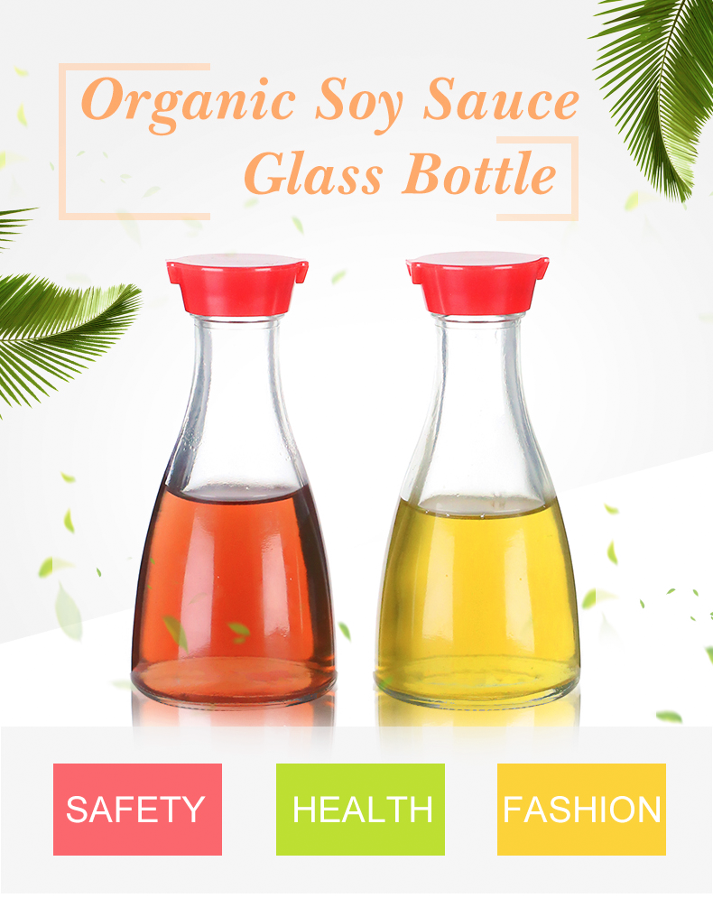 Food Grade Screw Cap pp Unique Soy Sauce cooking oil bottle