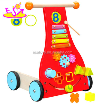 Baby Wooden Walker Wagon Or Trolley Toy For Toddlerwooden Trolley Toddler Wobbler Rabbit Wagon W16e043 Buy Trolley Toddlertrolley Toddlerwooden