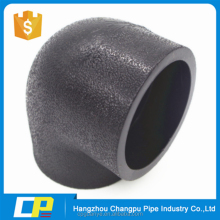 hdpe socket welding 90 degree pipe elbow center