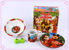 3pcs kid plates set brands wholesale