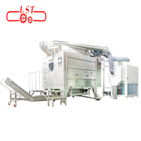 LST Sugar Coating Equipment , Automatic Cleaning Rotary Chocolate Coating Machine