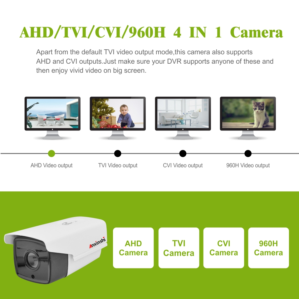 1080P motorized 4X Zoom Starvis Sony IMX307 AHD output   4 in 1 PTZ Bullet  Analog video CCTV Camera