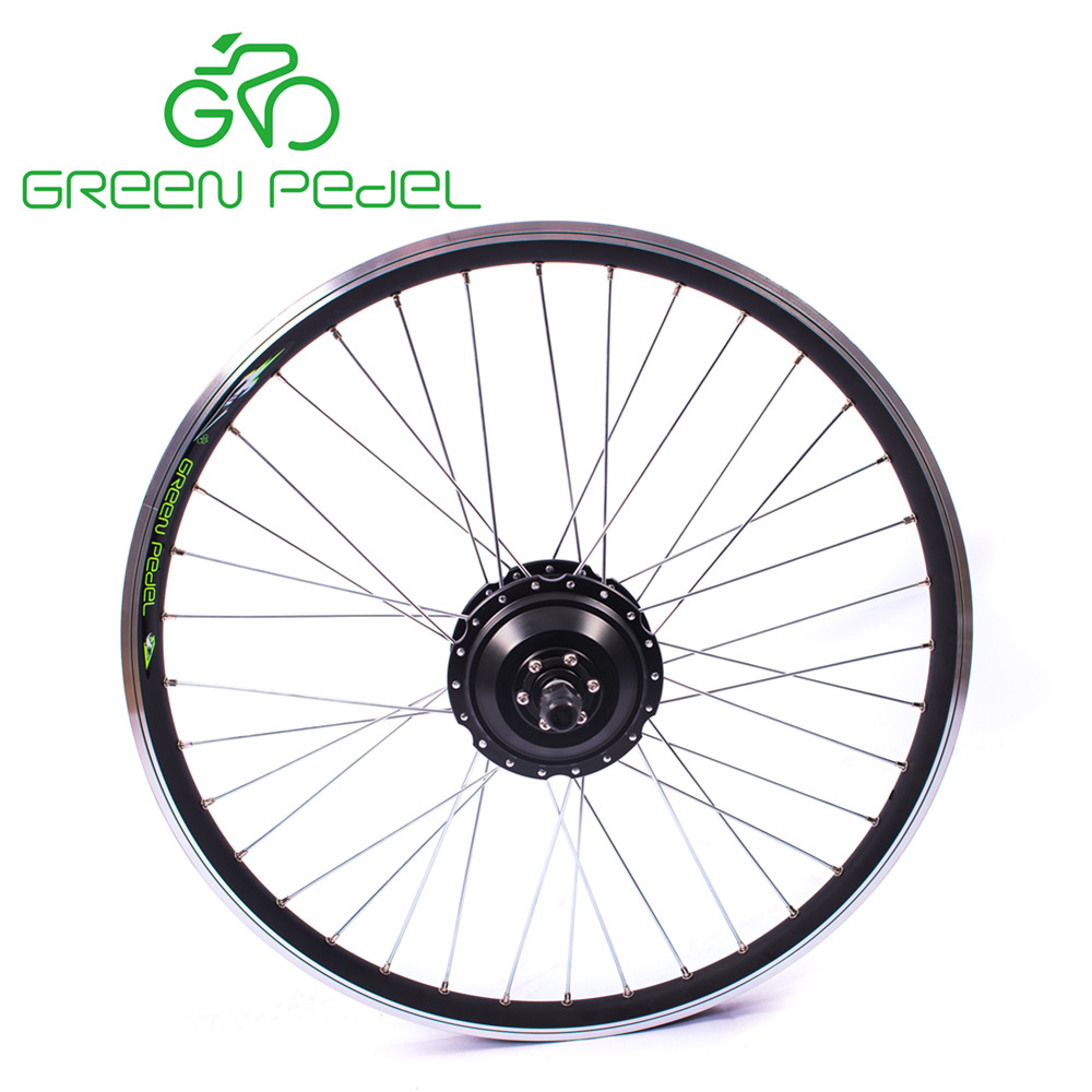 Greenpedel CE brushless geared 36v 250w hub motor electric wheel for electric bicycle