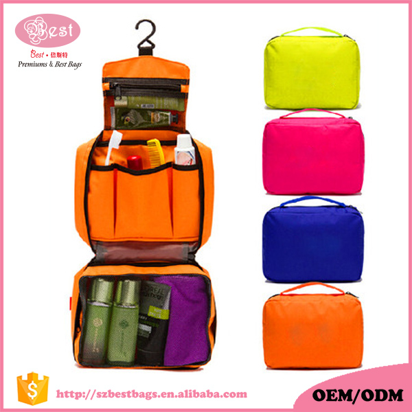 Foldable Toiletry Bag Travel Cosmetic Organizers