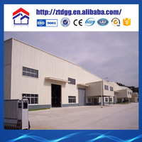 Prefabricated storage warehouse steel structure plant