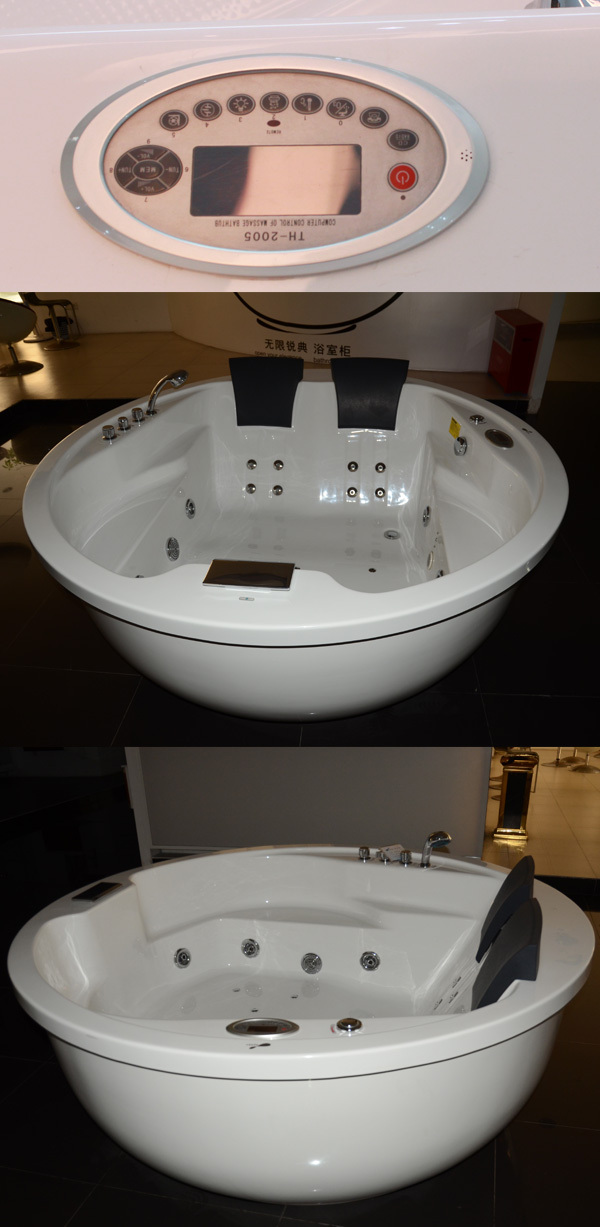 Hs-b1574t 2 Recliner Spa Tub For Wholesale Hydrotherapy Freestanding ...