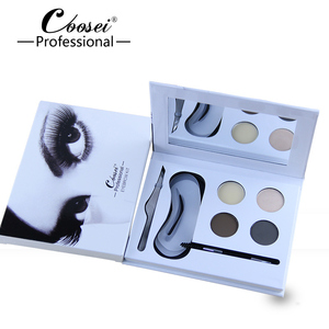 Eyebrow shaping kit with stencil/eyebrow kit with beautiful case