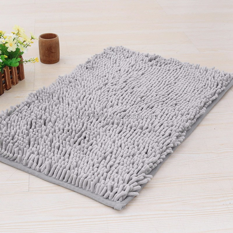 Decorative Shower Mats : Microfiber chenille bath mats decorative rugs buy