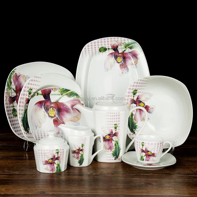 Ceramic Material dinner setliving art dinner setdinner set dinnerware & art dinnerware-Source quality art dinnerware from Global art ...