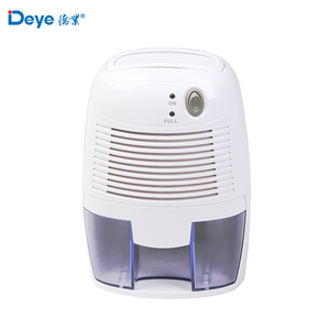 Factory wholesale cheap removable water tank 500ml dc 12v mini home dehumidifier