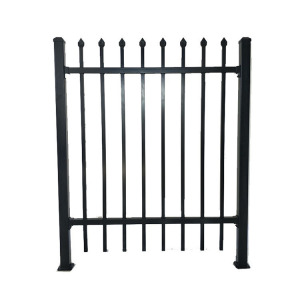 Forged Fence Spear Tops Ornamental Wrought Iron Fence
