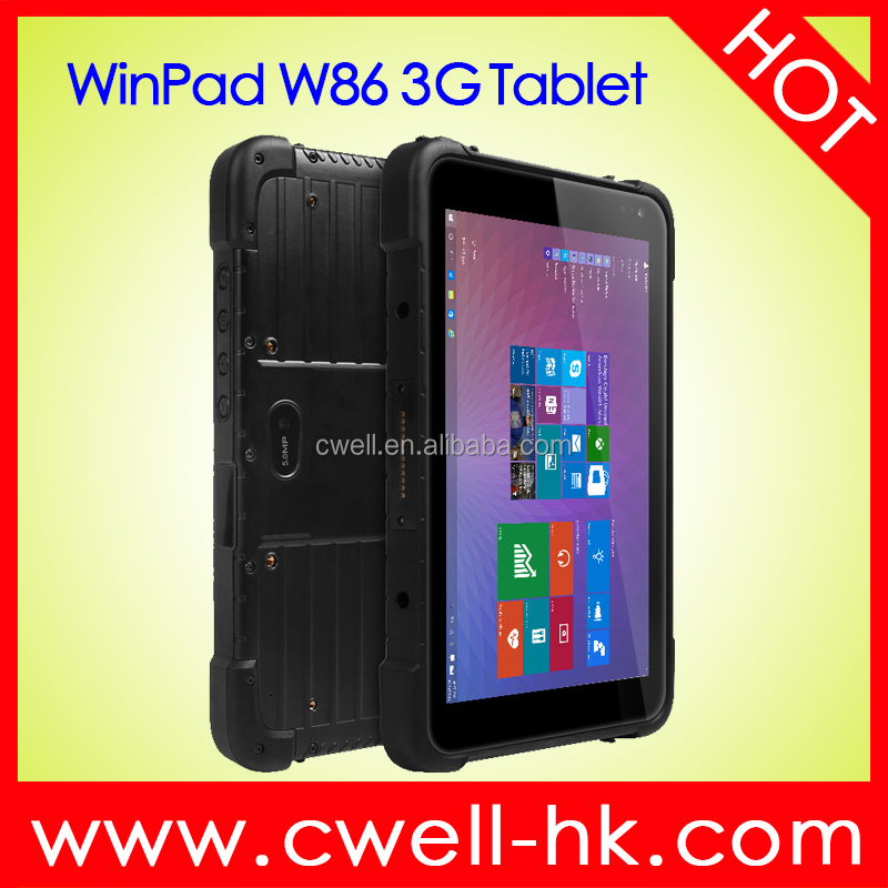 WinPad W86 8 Inch Anti-Scratched Screen 32GB EMMC IP67 Waterproof 3G Window 10 Industrial <strong>Tablet</strong>