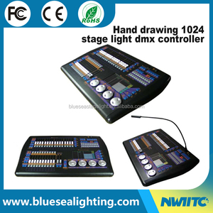 Pro stage light 1024 console 1024CH dmx Hand Drawing Lighting controller