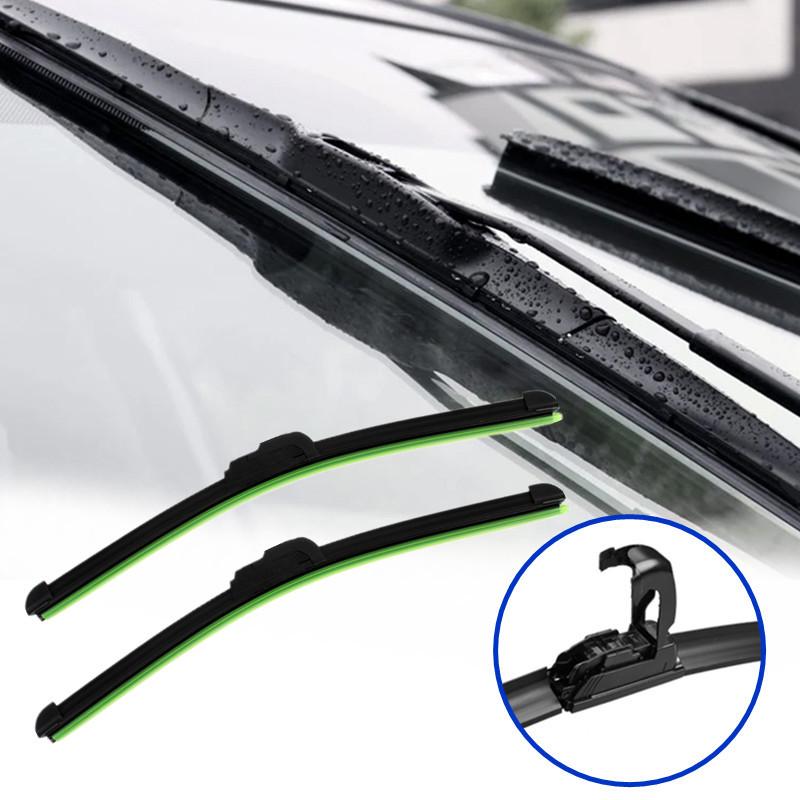 Высокое качество новое автомобиль плоским u-типа безрамное Bracketless резина лобового стекла ветрового щетка стеклоочистителя
