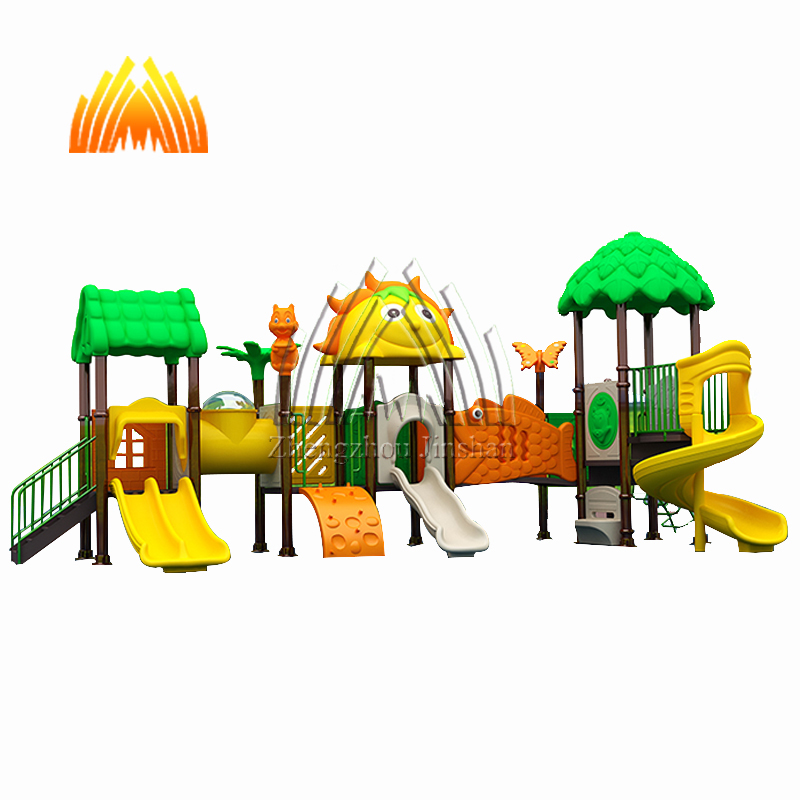 Outdoor park apparatuur kinderen speeltuin outdoor plastic dia outdoor speeltoestellen