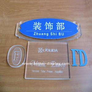 personalized acrylic door name plates creative door name plaques