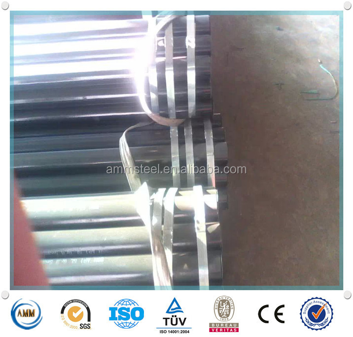 oil and gas drilling pipeline API 5CT N80 seamless steel tubing pipes from China manufacture