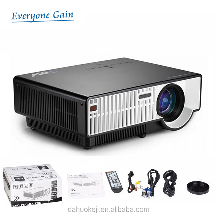 DH-310 led lcd light chinese av video projector for film LCD tech