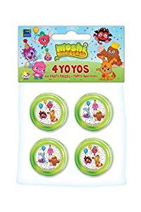 Moshi Monsters 4 Pack Yoyo's for party gift bags