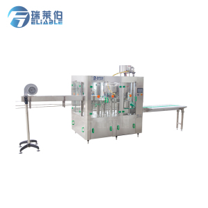 Delicate machine for pure water washing filling capping 3 in 1 with 2000BPH