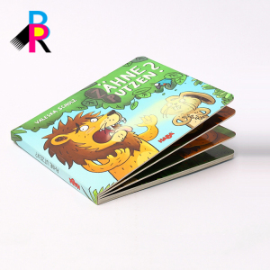 Professional Printing Hard Cover Coloring Board Story Book Children