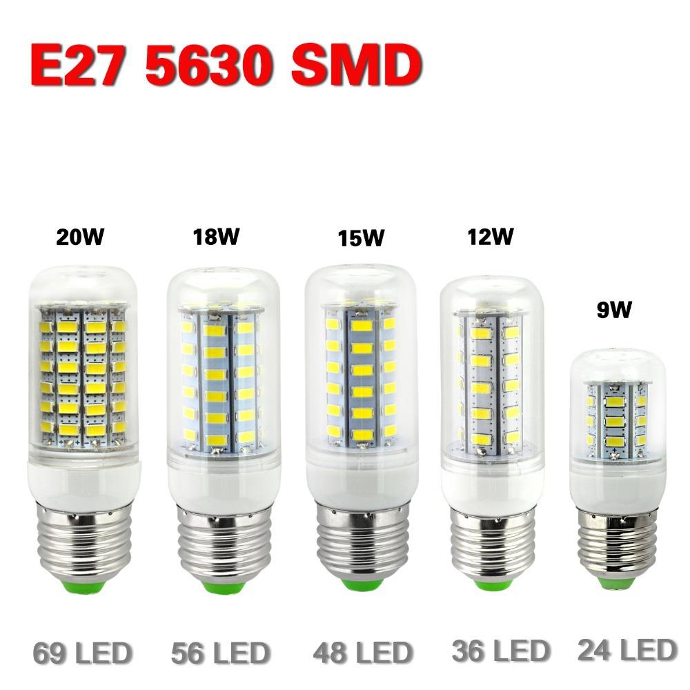 e27 led lamps 5730 220v 7w 12w 15w 18w 20w led lights corn led bulb. Black Bedroom Furniture Sets. Home Design Ideas