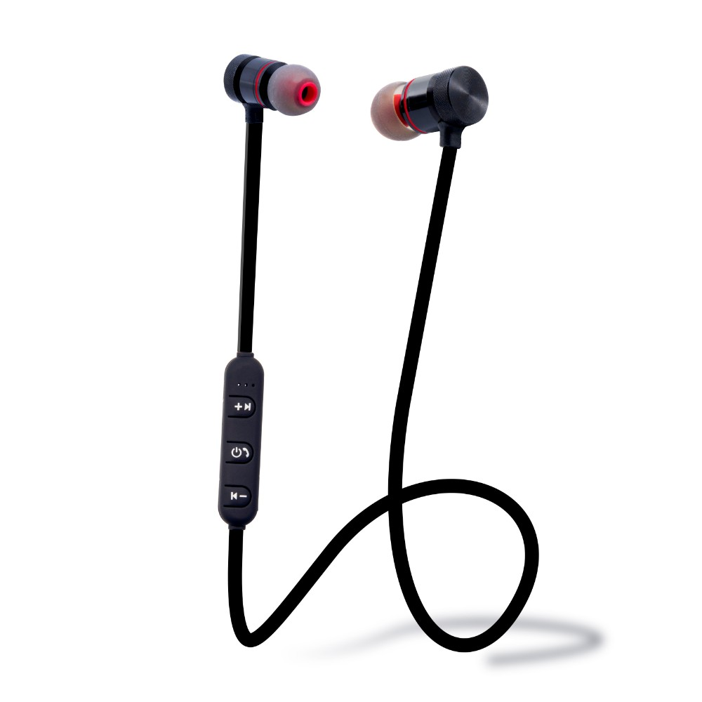 Ready To Ship ZZYD Wireless Magnetic Headphones Sport Headset Stereo Music In-Earphones In Stock For Smartphones, N/a