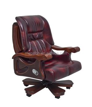 luxury office chair. school office furniture luxury red leather principal chair foh1311 t